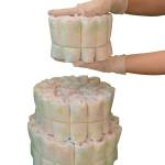 все наши торты из памперсов собираются в стерильных перчатках