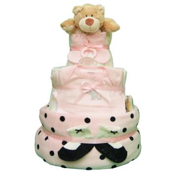 Торт из памперсов «Классика»
