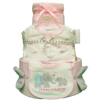 Торт из памперсов «Мамина радость»