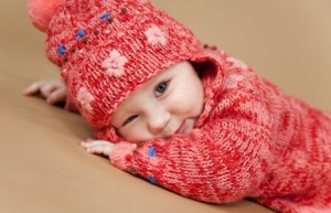 Теплая одежда для малышей