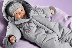 Как выбрать теплый комбинезон для малыша