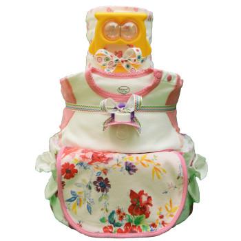 Торт из памперсов «Желтая совушка»
