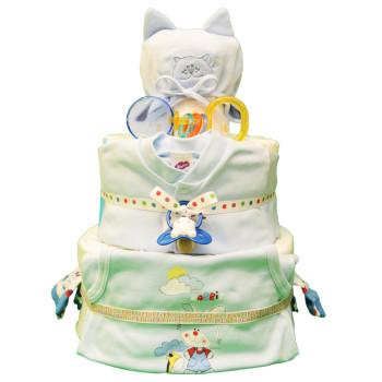 Торт из памперсов «Котенок»