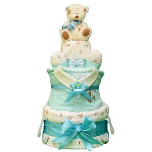 Торт из памперсосв