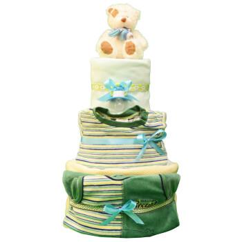 Торт из памперсов «Летний»