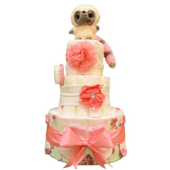 Торт из памперсов «Воздушный»