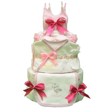 Торт из памперсов «Замок принцессы»