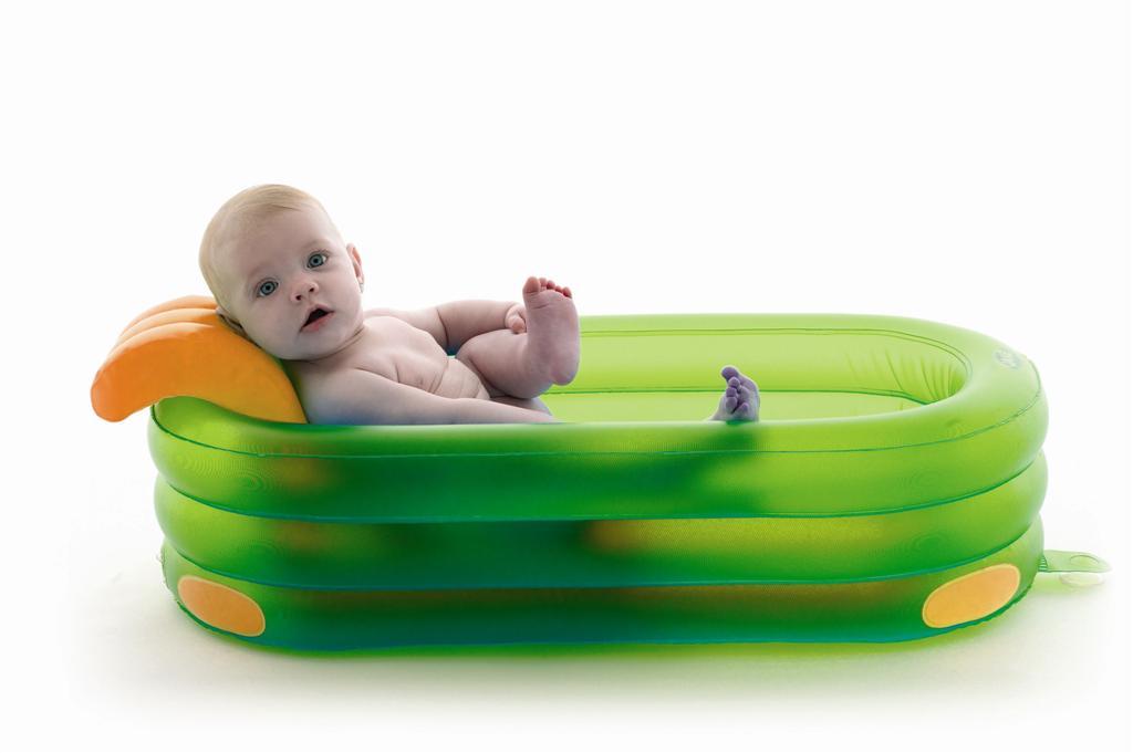 Ванночка детская надувная