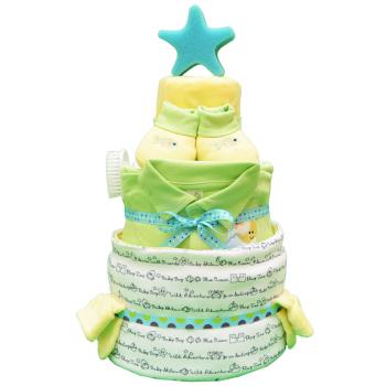 Торт из памперсов «Морское путешествие»