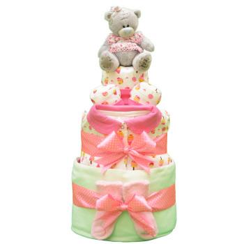 Торт из памперсов «Сладкоежка»