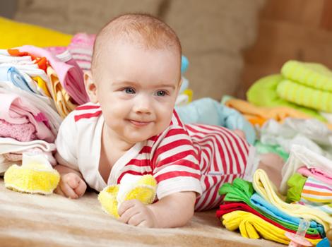Правила стирки детской одежды