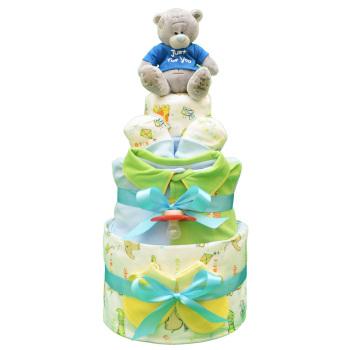 Торт из памперсов «Зоопарк»