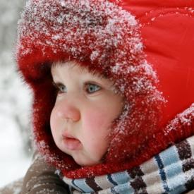 Защита кожи малыша от холода