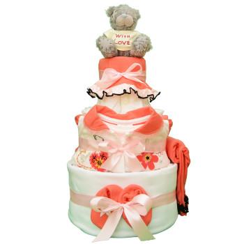 Торт из памперсов «С любовью»