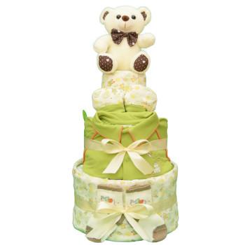 Торт из памперсов «Жаркое лето»