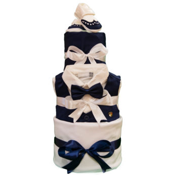 Торт из памперсов «Джентельмен»