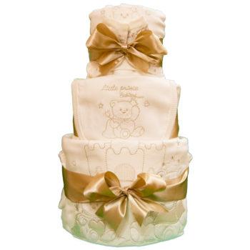 Торт из памперсов «Маленький принц»