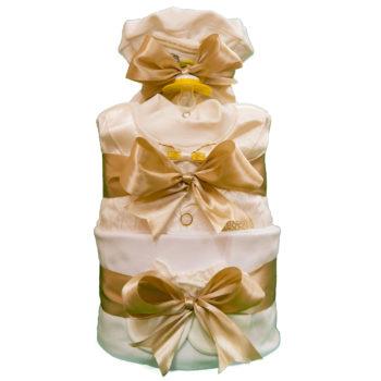 Торт из памперсов «Молочный»