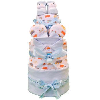 Торт из памперсов «Гонщик-2»